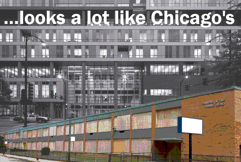 …looks a lot like Chicago's